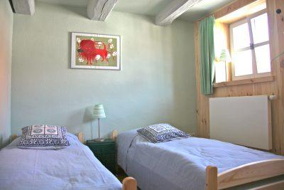 Das grüne Schlafzimmer